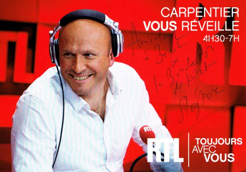 """Dédicasse de Stéphane Carpentier pour """"labandefmduloiret"""""""