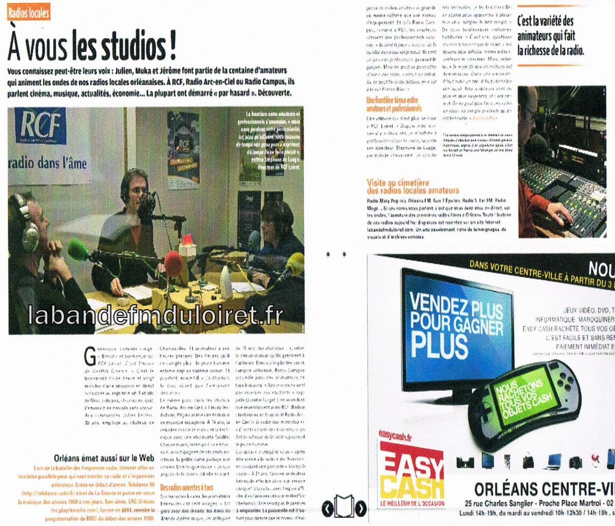 l' Hebdo d' Orléans, 11 déc. 2013