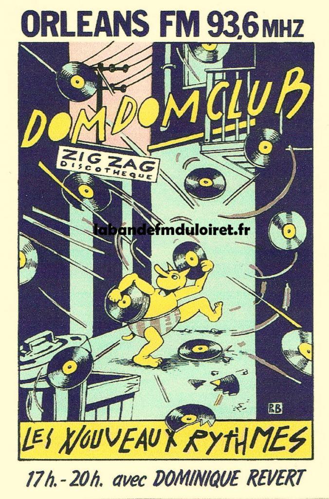 affiche publicitaire pour une émission en 1983