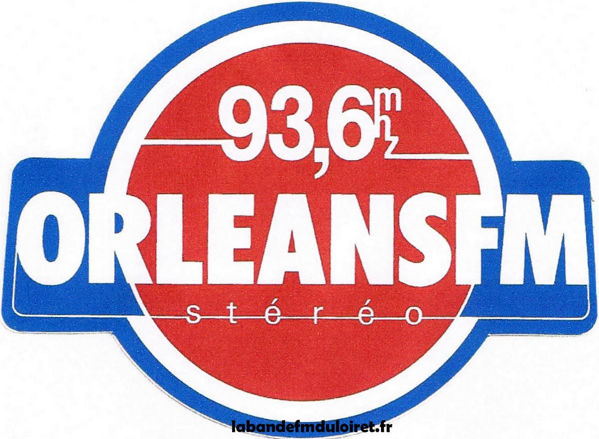 le 1er logo d' Orléans FM