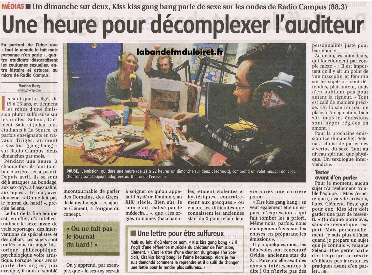 article de presse RC 26 janvier 2012