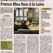 article de presse de La République du centre 28 septembre 2012