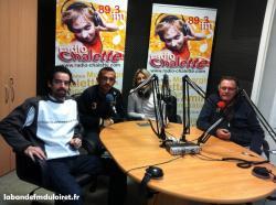 2012, Didier Roquet et une partie de l'équipe