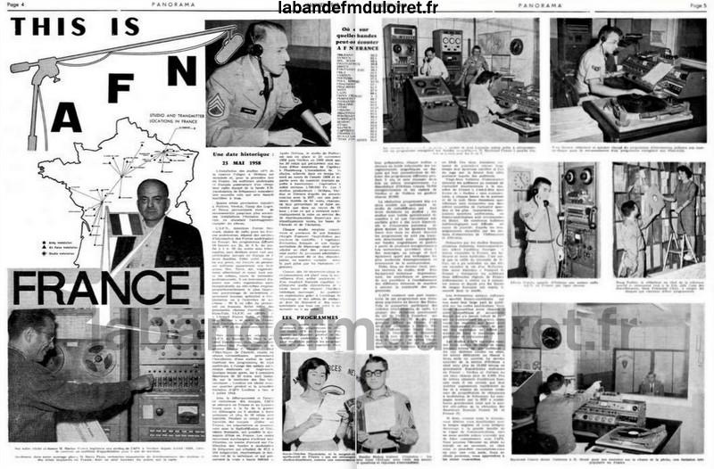 Journal Panorama janvier 1963