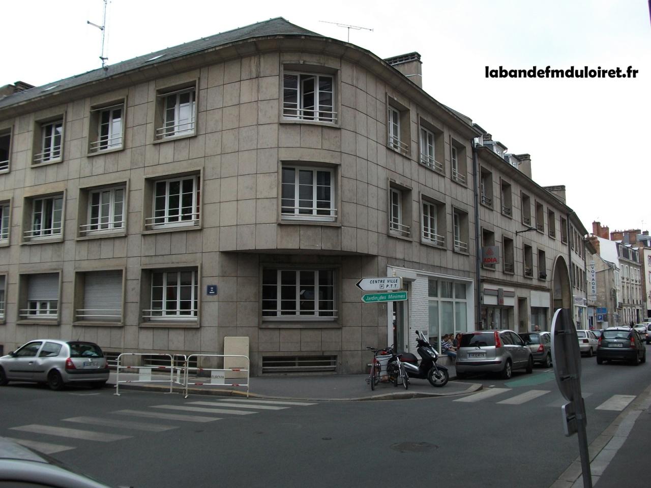 Les locaux,rue d'Illiers à Orléans