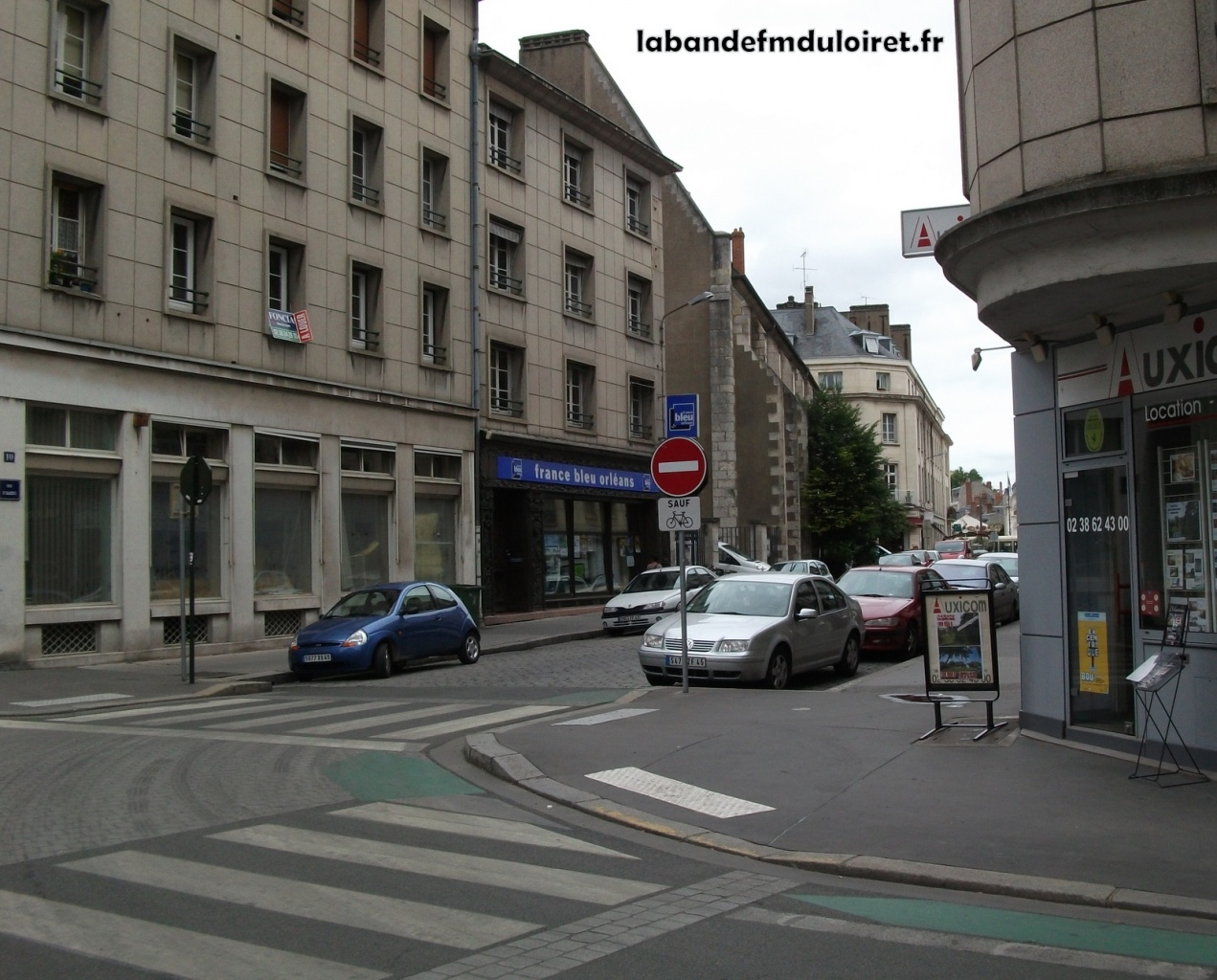 Aperçu des anciens locaux de france bleu, rue d'Illiers