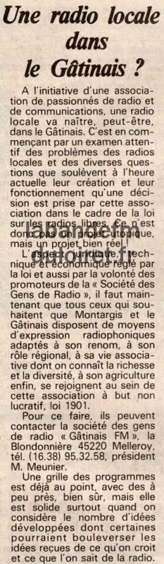 Eclaireur du Gâtinais 10 déc 1981.