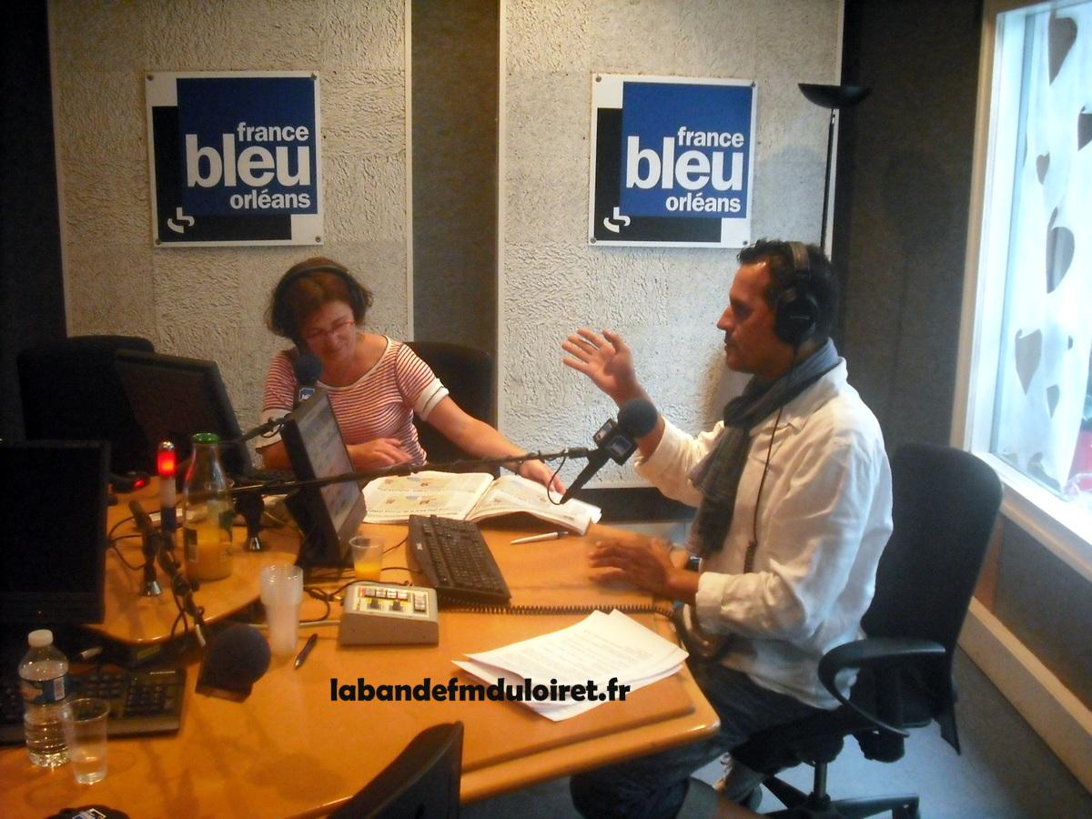 le studio principal (avec Lydie Lahaix et Rodolphe Louvet)