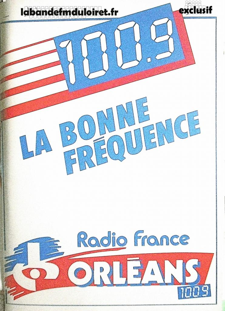 publicité sur une pochette cartonnée (1986 env)