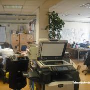 La salle de rédaction