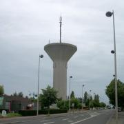 Site Towercast Gien zone industrielle