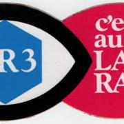 autocollant FR3 RADIO
