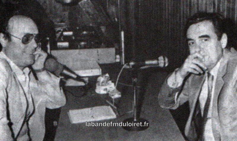 Jean-Claude Meunier reçoit Bernard Pivot pendant l'inauguration