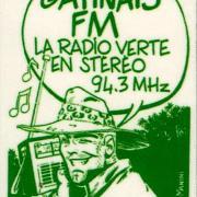 publicité (pour abribus) en 1983