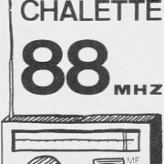 le 1er logo de la station