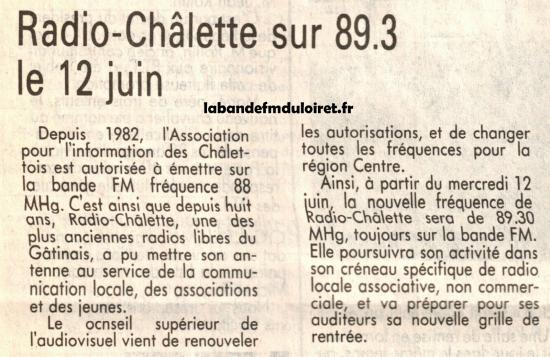 article de presse 11 juin 1991