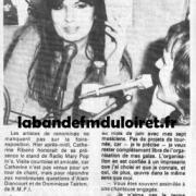 article de presse avril 1984