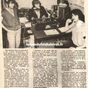 article de presse 26 avril 1983