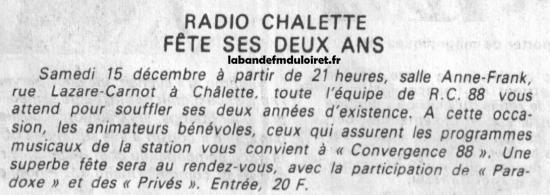 article de presse déc. 1984