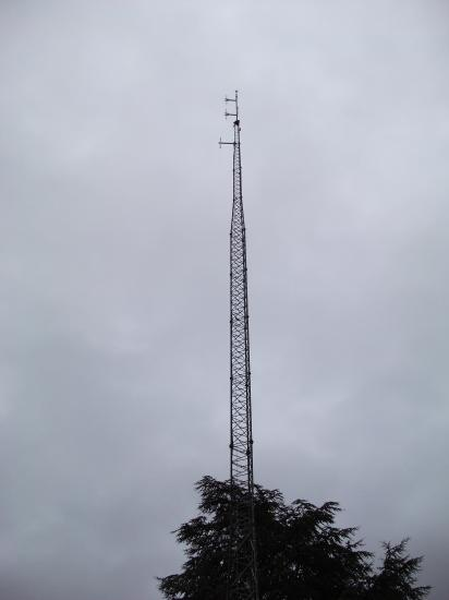 Site Towercast Amilly, rue du Chesnoy (l'antenne)