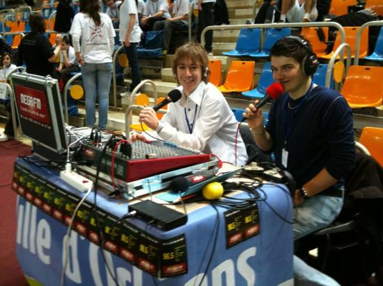 Paul et Maxime, en retransmission sportive (2012)