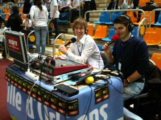 Paul et Maxime, en retransmission sportive (2012)