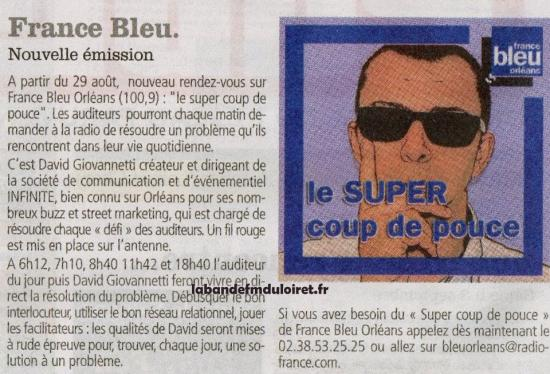 article de presse Publi 45 aôut 2011