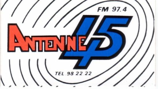 ANTENNE 45 /  FUN RADIO Montargis
