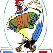 Autocollant avec logo en 1987