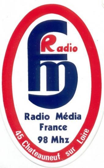 Autocollant avec logo en 1984