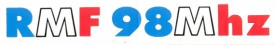 Autocollant avec logo fin des années 80