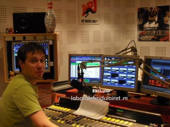 l'animateur Ben dans le studio en 2010