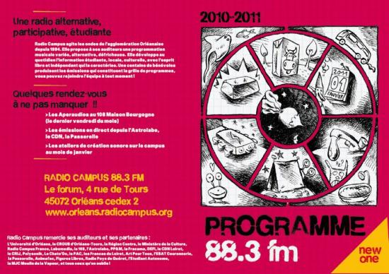 couverture de la brochure des programmes 2010/11