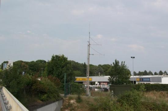 Site Radio Vinci Autoroutes A71 Ingré