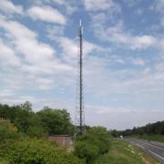 Site Radio Vinci Autoroutes A71 La Ferté St Aubin