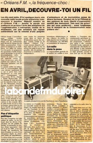 article du 19 mars 1982