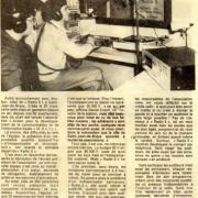 article de presse du 26 avril 1983