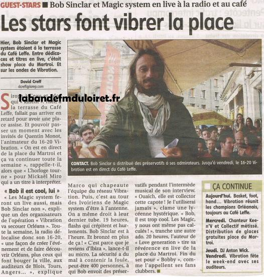 article de presse 7 juin 2011