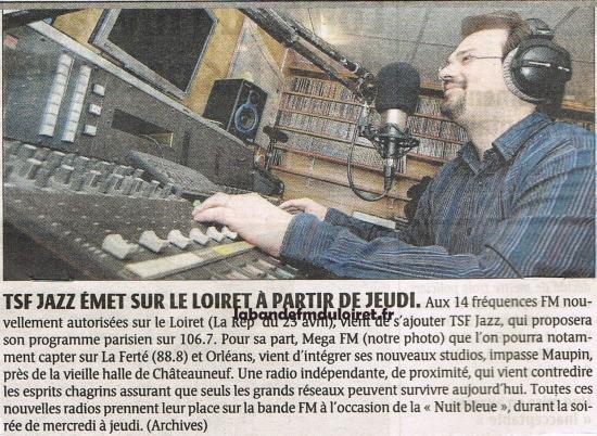 article de presse (23/6/2008) annonçant la naissance de la station