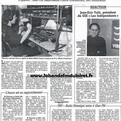 article de presse 9 mars 1995
