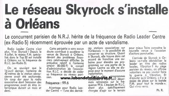 article de presse 7 juillet 1989
