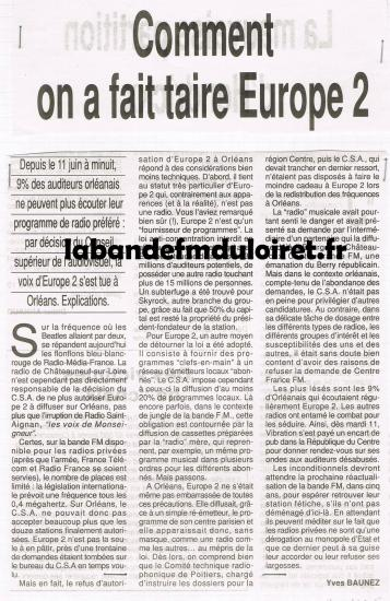 article de presse juin 1991