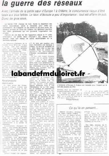article de presse 21 juillet 1987
