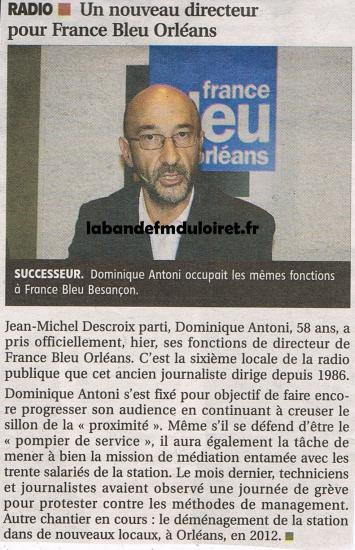 article de presse 15 juin 2011