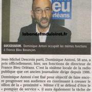 article de presse 15 juin 2011