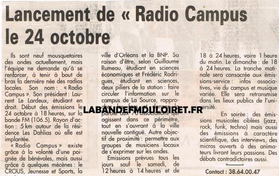 article de presse 19 oct. 1994
