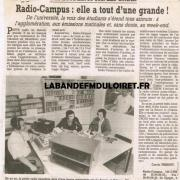 article de presse 12 oct. 1995