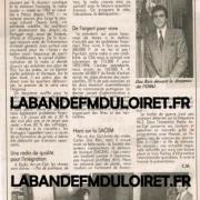 article de presse 16 oct. 1993