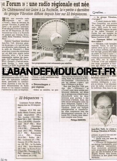 article de presse fév. 1998