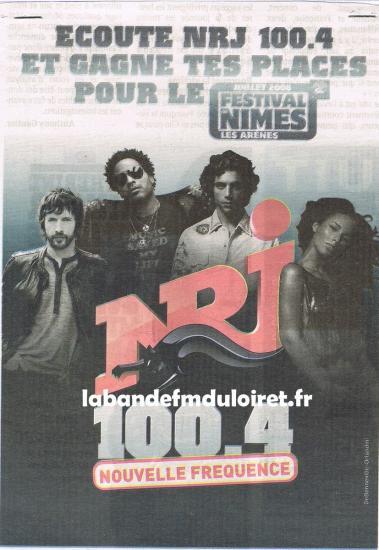 publicité juin 2008 pour la nouvelle fréquence